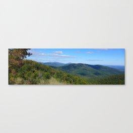 Shenandoah National Park Panorama3 Canvas Print