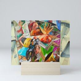 Dana Schutz Elevator Mini Art Print
