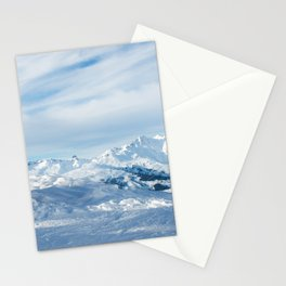 Mountain rescue station Stationery Cards