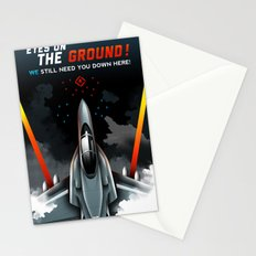 Eyes on the Ground Stationery Cards