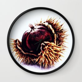 Prickly Little Bitch Wall Clock