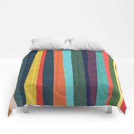 Mid-century zebra Comforters