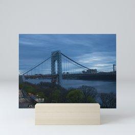George Washington Bridge Mini Art Print