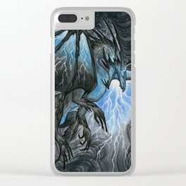 Storm Bringer Clear iPhone Case