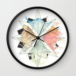 C.O.M.P.A.S.S. No. 9 Wall Clock