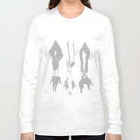squid Long Sleeve T-shirts featuring Squid by Studio ReneeBoute