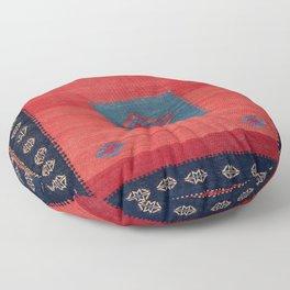 Ashar Ru Khorsi Kerman South Persian Blanket Print Floor Pillow
