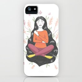 Peace and Pain (either/or/both) iPhone Case