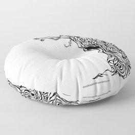 Gnarly Floor Pillow