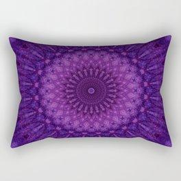 Pink and purple mandala Rectangular Pillow