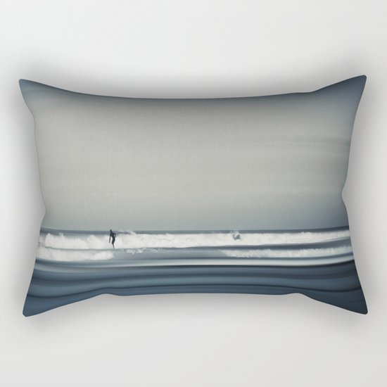 Sea and Surfer 16 Rectangular Pillow