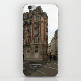 Au coin (Paris) iPhone Skin