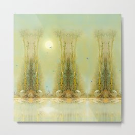 Bamboo Dream Metal Print