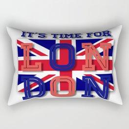 It's time for London Rectangular Pillow