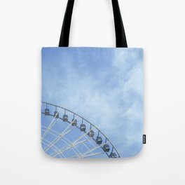 Life is a wheel of fortune Tote Bag