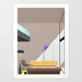 Building J Art Print