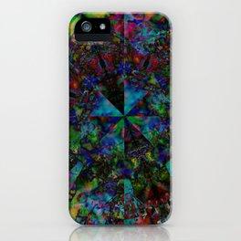 Leopard Gecko Fractal iPhone Case