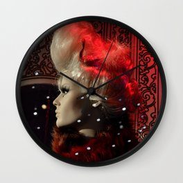 Lonely on the Dance Floor Wall Clock