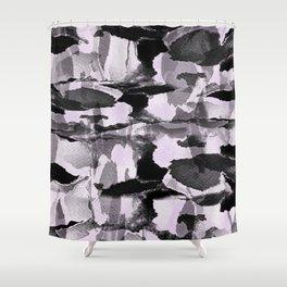 Thinking Lapse Shower Curtain