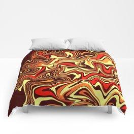 Volcanic Liquid Agate Comforters