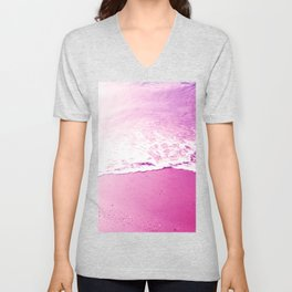On the foam of the sea Unisex V-Neck