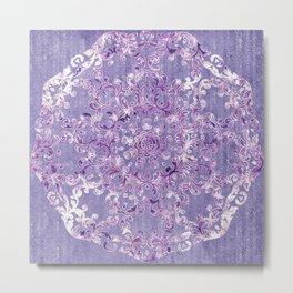 A Taste of Lilac Wine Metal Print