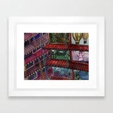 The World Is Our Playground Framed Art Print