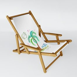 """Beach Afternoon"" Sling Chair"