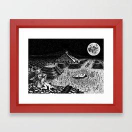 Meso-Mania Framed Art Print