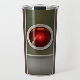 HAL 9000 Vintage magazine advertisement Travel Mug