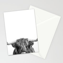 """Highland Cow """"I See You"""" Stationery Cards"""