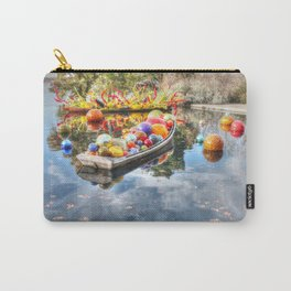 Floating Glass Carry-All Pouch