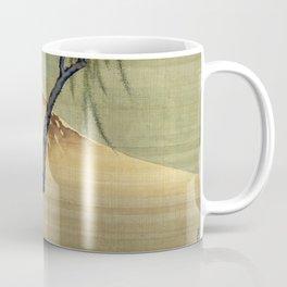 Katsushika Hokusai Boy Viewing Mount Fuji Coffee Mug