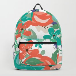 Floral Burst Backpack