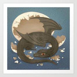 Dragon Hatchling Art Print