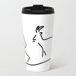 goat Capricorn Travel Mug