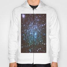 Winter Blues Galaxy Stars Hoody