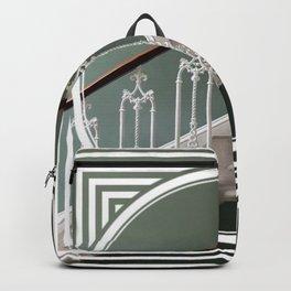 Stairway to Heaven - geometric circle Backpack