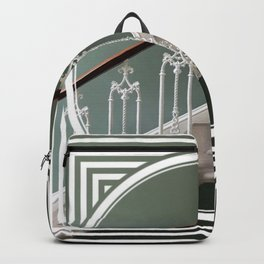 Stairway to Heaven - geometric circle Backpack