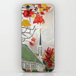 Frankfurt Germany LDS Temple iPhone Skin