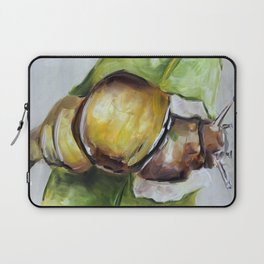 Snail, nature, green Laptop Sleeve