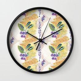 Juneberry Fantasy Wall Clock