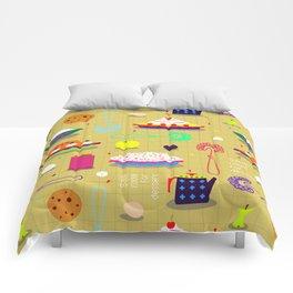 Save Room For Dessert Comforters