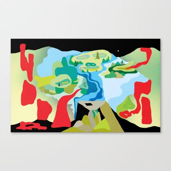 """""""Warpaint"""" by Steven Fiche Canvas Print"""
