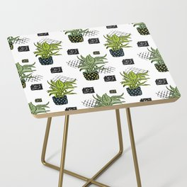 Potted House plant Side Table