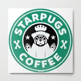 Starpugs Coffee Metal Print