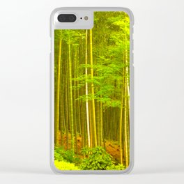 Boundless Bamboo Clear iPhone Case