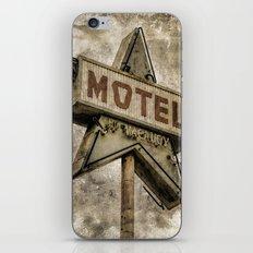 Vntage Grunge Star Motel Sign iPhone & iPod Skin