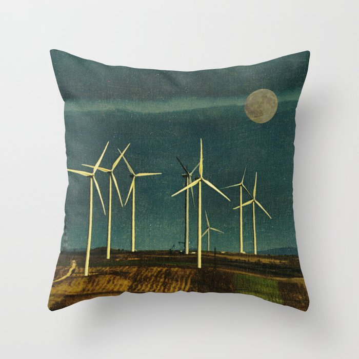 Eco Morning Throw Pillow