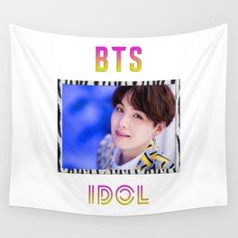 BTS Song IDOL Design - Suga Wall Tapestry